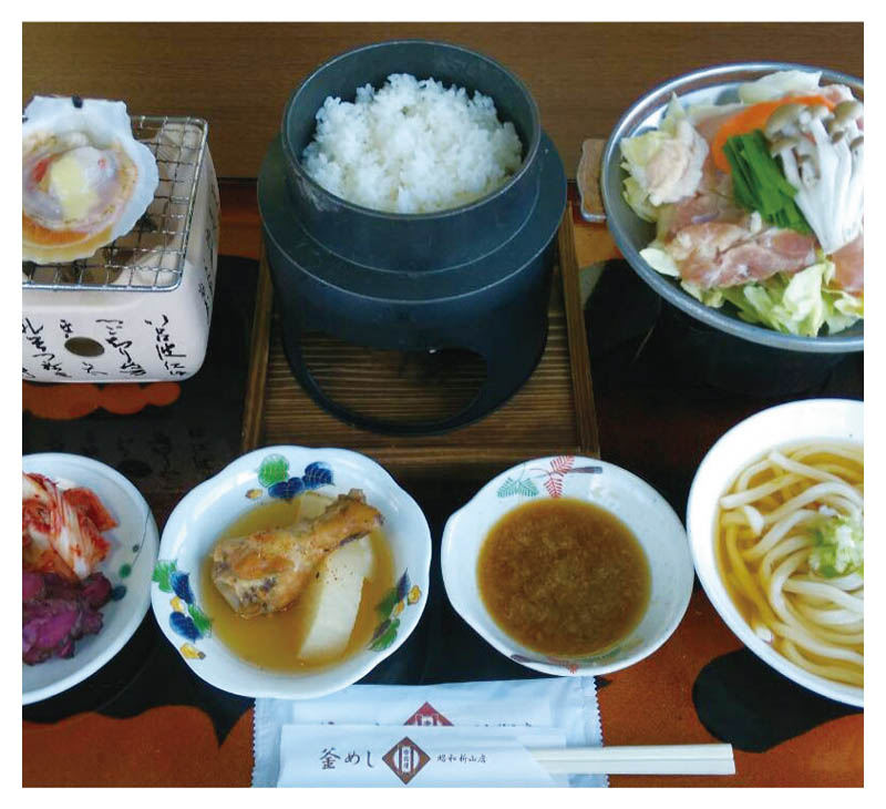 Chicken Toban set meal